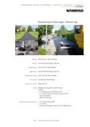 Download PDF: Baustellenreport Würenlingen ... - kampag
