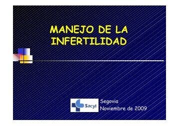 MANEJO DE LA INFERTILIDAD