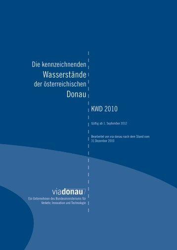 Wasserstände Donau - via donau