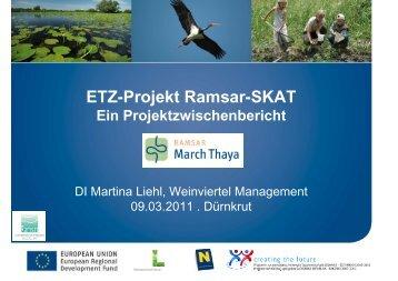 DI Martina Liehl - Ramsar SKAT - via donau