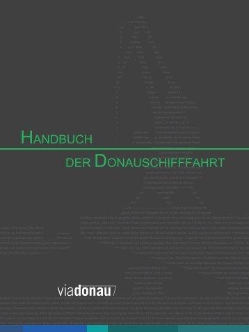 HANDBUCH DER DONAUSCHIFFFAHRT - via donau