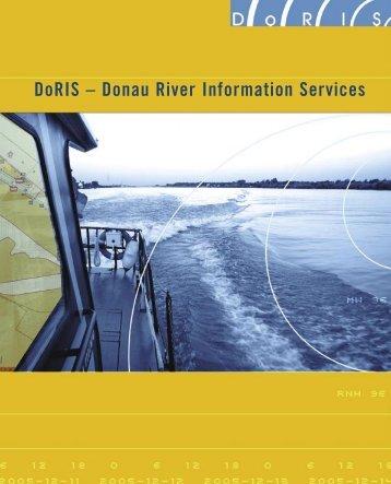 DoRIS – Donau River Information Services - via donau