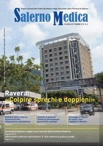 n.0 Giugno-Settembre 2012 - Ordine dei Medici di Salerno
