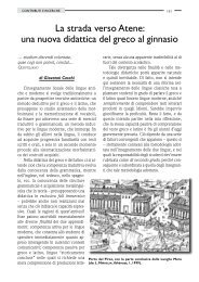 La strada verso Atene: una nuova didattica del ... - Giovanni Ceschi