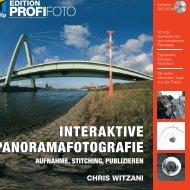 Interaktive Panoramafotografie - Panoramafotografie Workshop