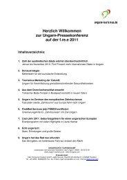 Ungarn-Pressedienst zur Messe f.re.e