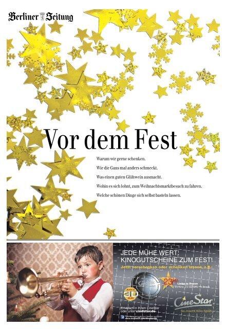 Vor dem Fest - Berliner Zeitung