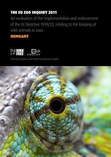 THE EU ZOO INQUIRY 2011 An evaluation of the implementation ...