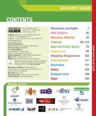 pdf guides - Budapest