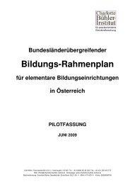 Österreichischer Bildungs-Rahmenplan (Pilotfassung)