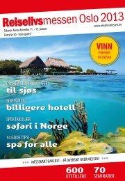 til sjøs billigere hotell safari i Norge spa for alle VINN 600 70