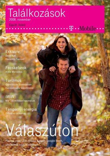 Találkozások magazin 2008. november - T-Mobile
