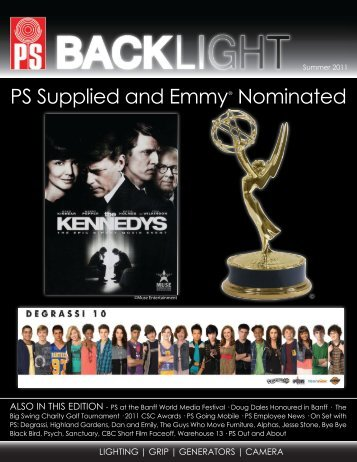 PS Supplied and Emmy® Nominated