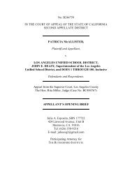 to read The Rutherford Institute's brief in McAllister v. LAUSD