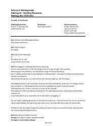 Referat af afdelingsmøde Afdeling 16 – Rytoften/Ryhavevej Mandag ...
