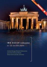 IBD-DACH in discussion_final - Ärztekammer Berlin