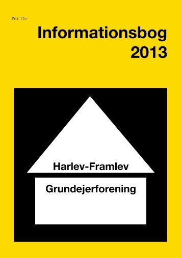 Se Infobogen i pdf - Harlev - Framlev Grundejerforening