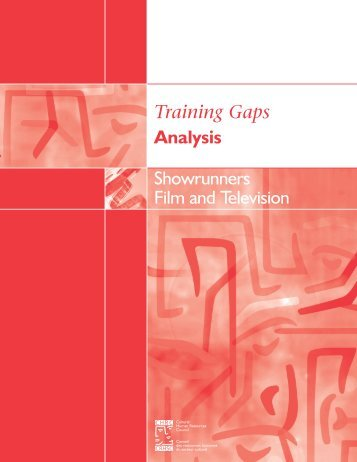 Showrunners - Training Gaps Analysis - Cultural Human Resources ...
