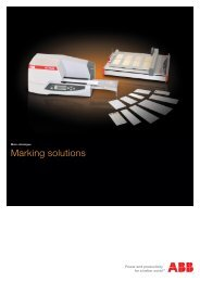 Marking solutions - ABB