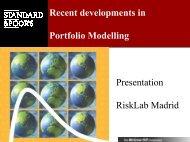 Portfolio Risk Tracker - RiskLab