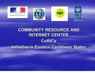 COMMUNITY RESOURCE AND INTERNET CENTER CoRICs ...