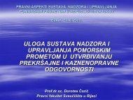 Uloga VTMIS sustava u utvrđivanju prekršajne i kaznenopravne ...