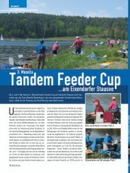 Am 3. und 4. Mai fand der 3. Mosella Feeder Tandem Cup am ...
