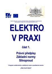 2.Elektro v praxi část 1 - Pro plný život