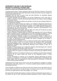 INTERVENTO DR.SSA FLORI DEGRASSI PROGETTO OSPEDALE ...