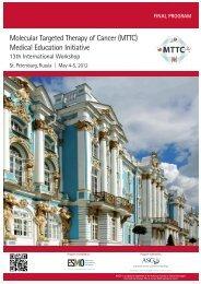 MTTC International Workshop (St Petersburg, 4-5 May 2012)