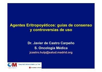 Agentes Eritropoyéticos: guías de consenso y controversias de uso