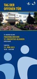 tag der offenen tür tag der offenen tür - St. Vincentius-Kliniken gAG