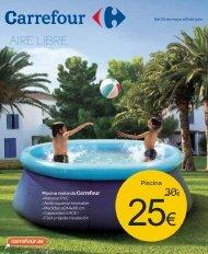 Ofertas Carrefour para el aire Libre
