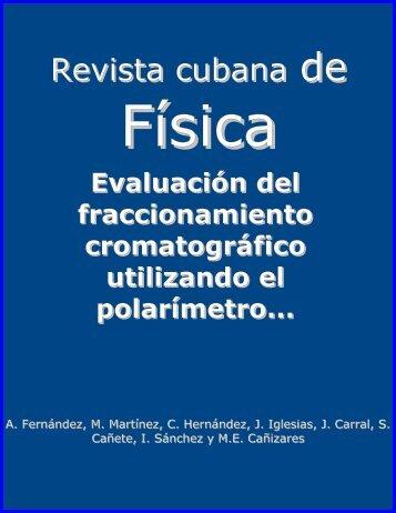Evaluación del fraccionamiento cromatográfico utilizando el ...