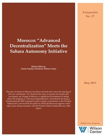 """Advanced Decentralization"" Meets the Sahara Autonomy Initiative"