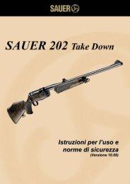 Istruzioni per l'uso e norme di sicurezza Istruzioni per l'uso e ... - Sauer