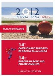 Boccia alla lunga - Pubblicazione - Provincia di Pesaro e Urbino