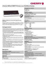 eVolution MARLIN SMART Wireless Laser MultiMedia ... - Cherry
