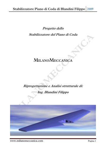 Relazione stabilizzatore.pdf - Milano Meccanica