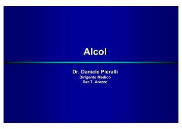 Dr. Daniele Pieralli - Ce.Do.S.T.Ar.