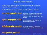 Derivati del morfinano - Appunti esami Farmacia e CTF