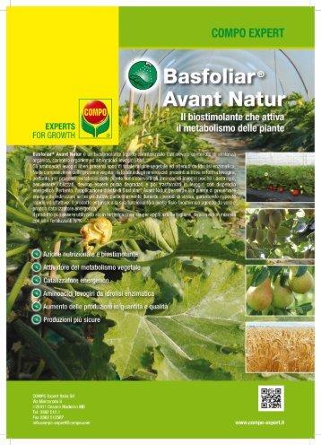 Volantino Basfoliar ® Avant Natur - COMPO EXPERT