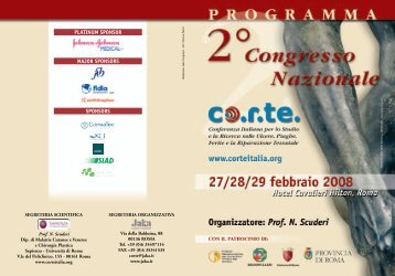 P rogramma Scientifico - Jaka Congressi Srl