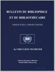 bulletin du bibliophile et du bibliothécaire - World eBook Library