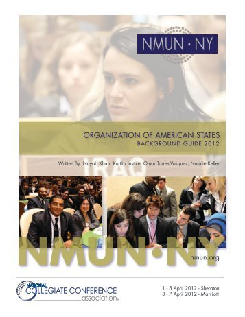 Organization of American States - National Model United Nations