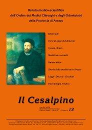 29/6/2006 Il Cesalpino n. 13 - Ordine dei medici-chirurghi ed ...