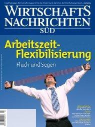 Ausgabe 02/2013 Wirtschaftsnachrichten Süd