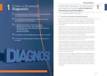 Criteri e Strumenti Diagnostici - Dipartimento per le politiche antidroga
