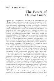 The Future of Delmar Güner - Tendencias de Moda