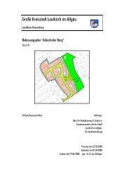 Bebauungsplan Adrazhofer Berg / Örtliche Bauvorschriften - Leutkirch